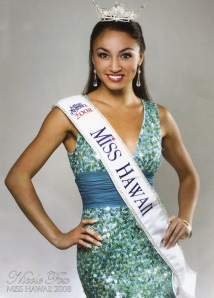 Nicole Fox, Miss Hawaii 2008.