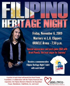 Arnela Pineda Filipino Heritage Night