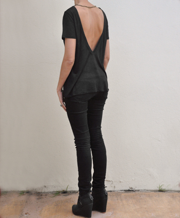 Bona Drag Society for Rational Dress low back chain top