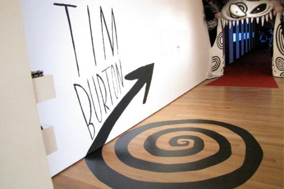 Tim Burton MOMA NYC