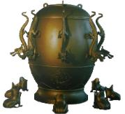 Ancient Chinese Earthquake Detector