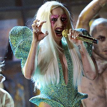 Lady Gaga Grammys 2010