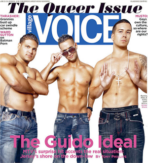 Village Voice Queer Issue 2010 Jersey Shore The Guido Ideal