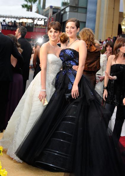 Marion Cotillard Penelope Cruz Academy Awards 2009