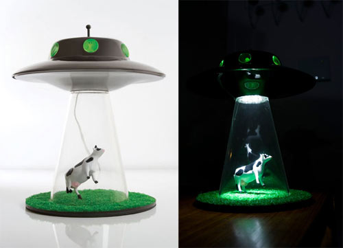 Lasse Klein Alien Abduction Lamp Design Milk