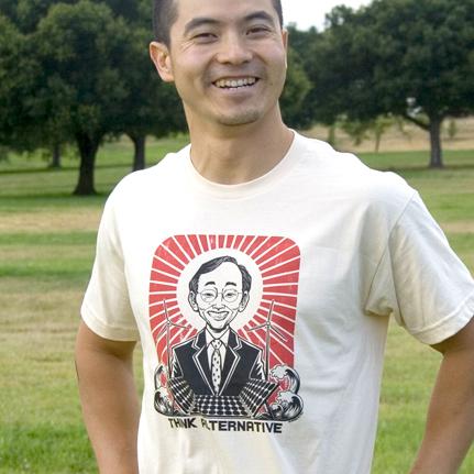 Martin Hsu Think Alternative Steven Chu Graphic Tee T-Shirt