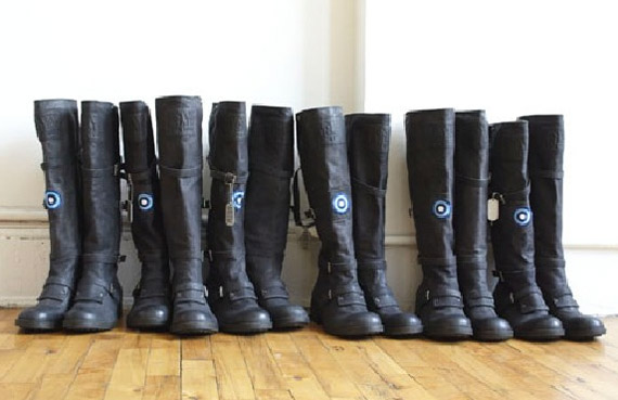Nine West Runway Relief boots Modelinia Nigel Barker