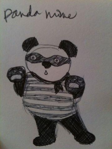 Mayka Mei panda mime