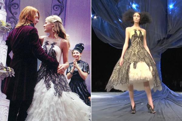 Jany Temime Harry Potter Alexander McQueen Dress