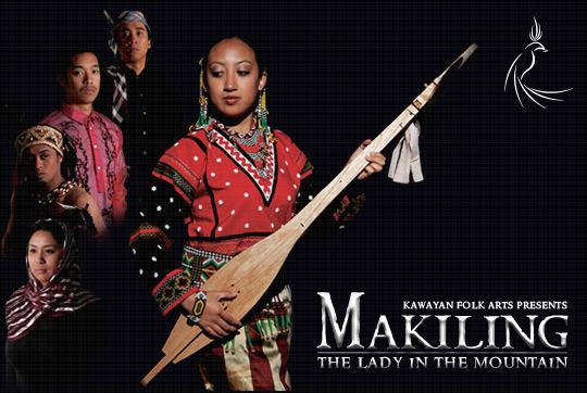 Kawayan Folk Arts Makiling The Lady in the Mountain Pilipino Filipino dance