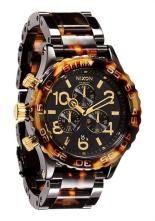 Nixon 42-20 Chrono All Black Tortoise