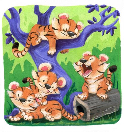 Bill Robinson Tigers Purrcasso 2010