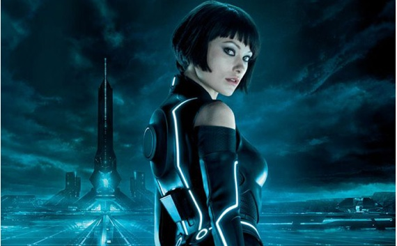TRON: Legacy Olivia Wilde Collider