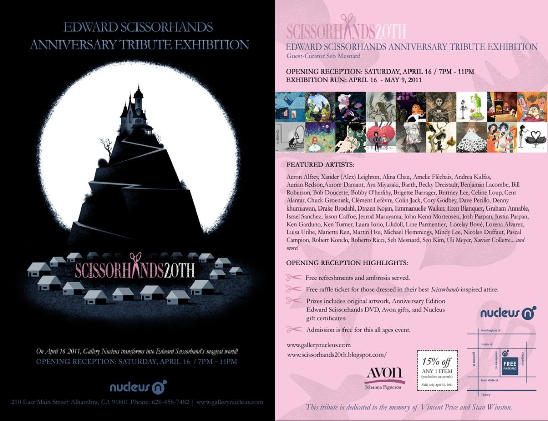 Gallery Nucleus Edward Scissorhands 20th Anniversary Tribute