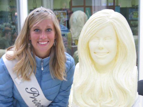 Minnesota State Fair Dairy Princess Kay of the Milky Way Kelsie Trosen