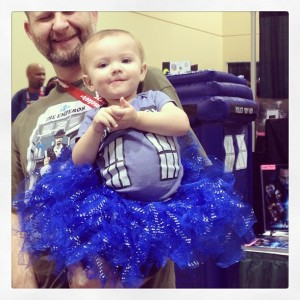 Baby Tummy Tardis! Well deserving of praise.