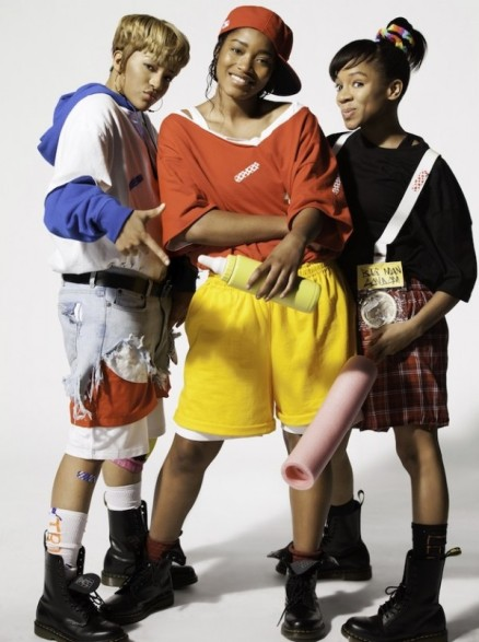 VH1's Crazy, Sexy, Cool: The TLC Story: Drew Sidora, Keke Palmer and Lil Mama